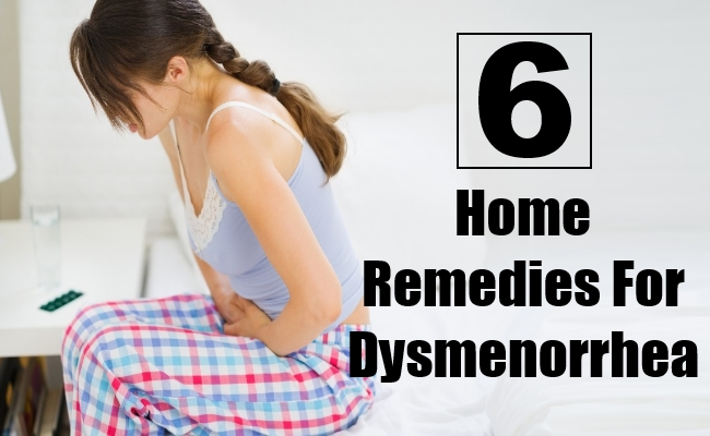 Home Remedies For Dysmenorrhea