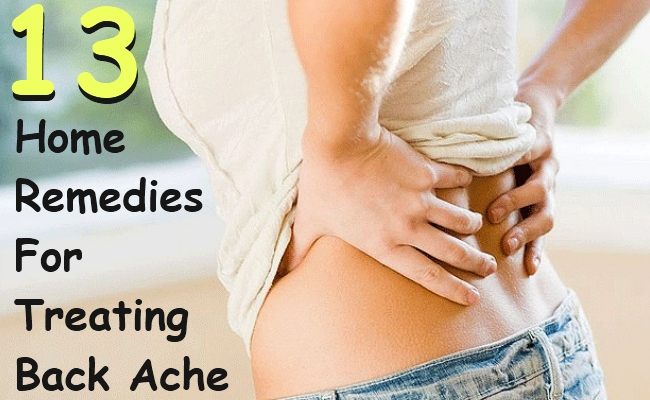 Home Remedies For Treating Back Ache