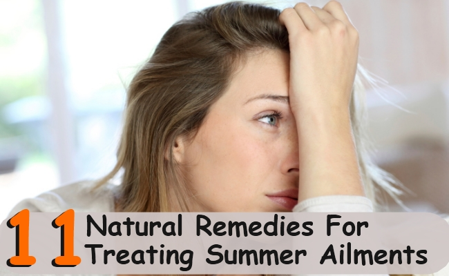 Natural Remedies For Treating Summer Ailments