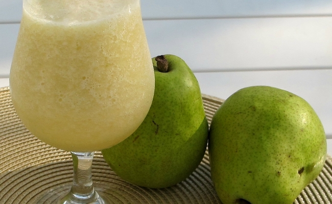 Pear Juice With Honey