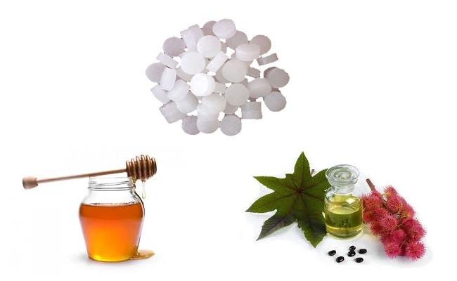 Honey, Castor Oil And Camphor Remedy