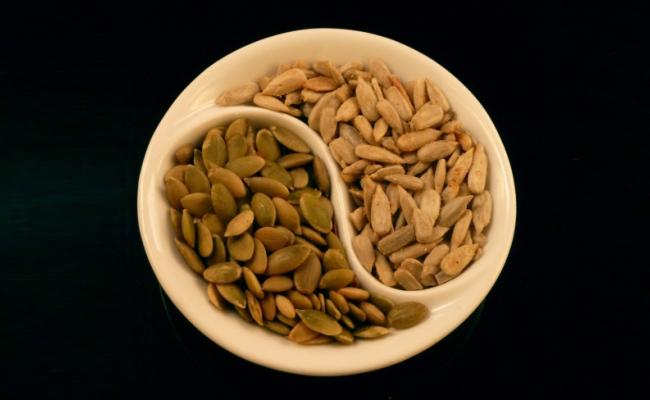 Sunflower Seeds And Pumpkin Seeds