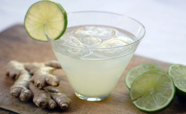 Ginger With Lime Juice