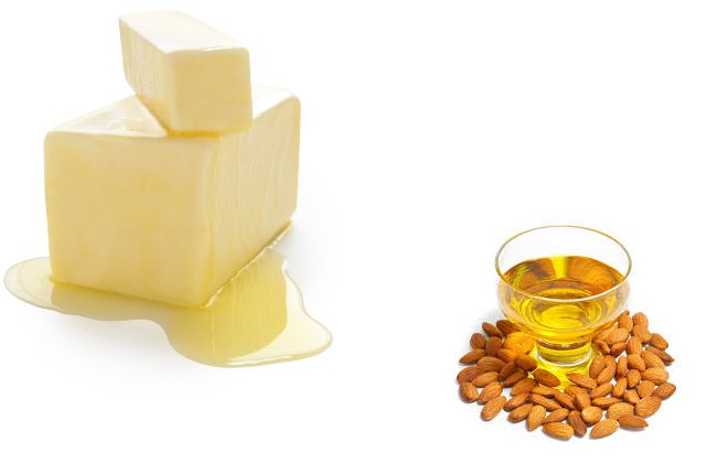 Butter And Almond Oil