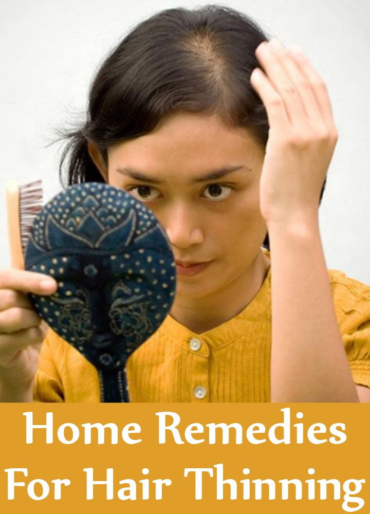 Home Remedies For Hair Thinning