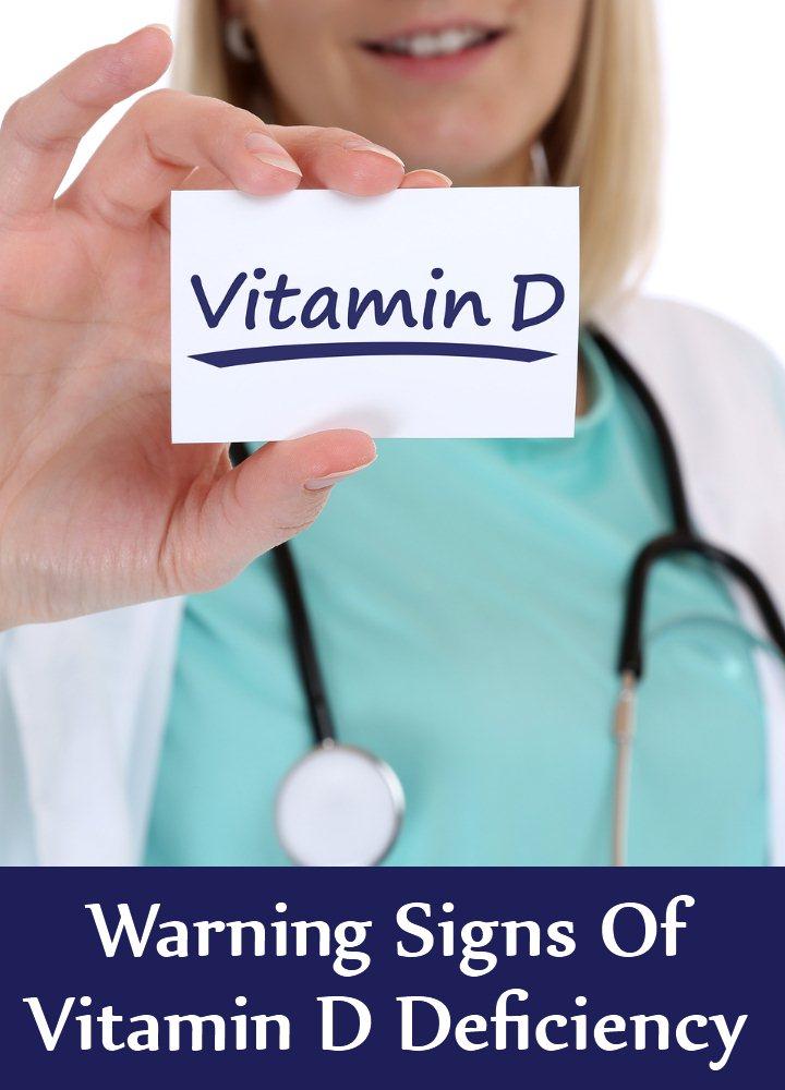 12 Warning Signs Of Vitamin D Deficiency