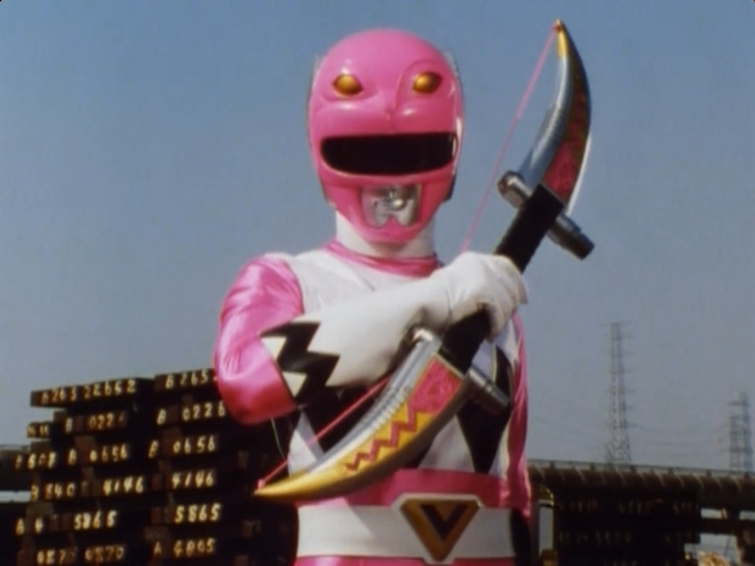Image result for pink galaxy ranger