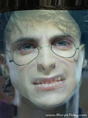 lord-voldemort's Face Combined with Harry Potter -
