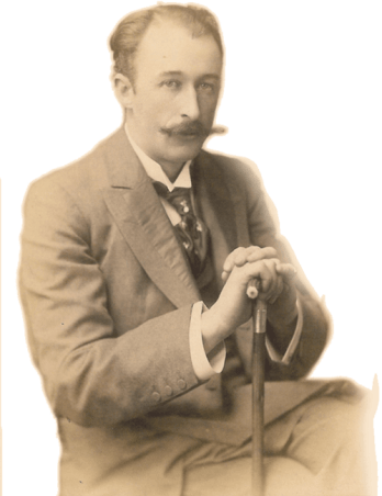 Photograph of Frederick Delius, composer of 'On Hearing the First Cuckoo in Spring'