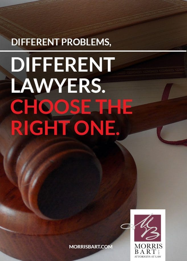 Not All Lawyers Are Alike Choose The Right Legal Specialist