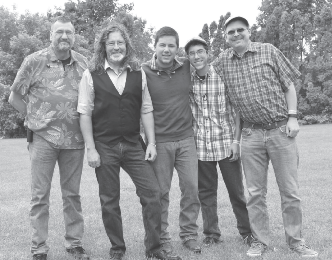 Nothin' Fancy, from Virginia, was a headliner at the 2017 Galop Canal Bluegrass Festival. Pictured are band members Mike Andes, Mitchell Davis, Chris Sexton, James Cox and Caleb Cox. (The Leader/Gibb photo)