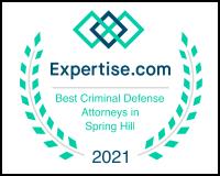 Top Criminal Defense Attorney in Spring Hill