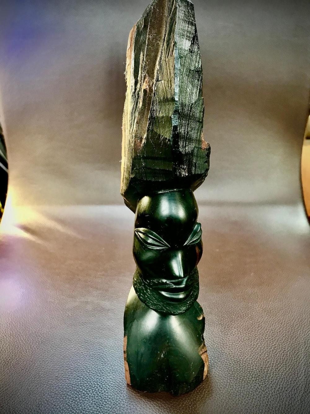 African Blackwood Carving