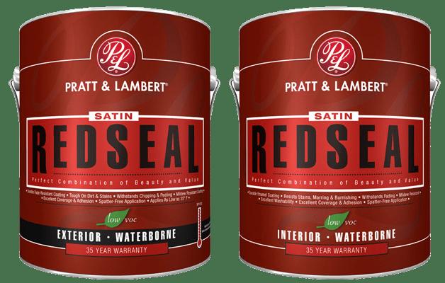 Pratt & Lambert RedSeal