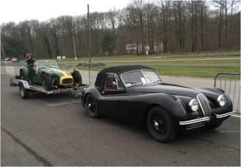 Jaguar XK120 & Lotus Seven