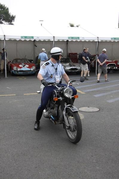 Gendarme d'époque