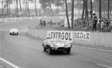 XKD 501 aux 24 heures du Mans 1956
