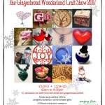 The Gingerbread Wonderland Craft Show 2017 signage