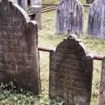 Tombstones at Morristown Presbyterian Cemetery