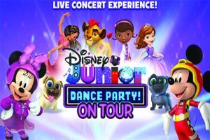 Disney dance party signage