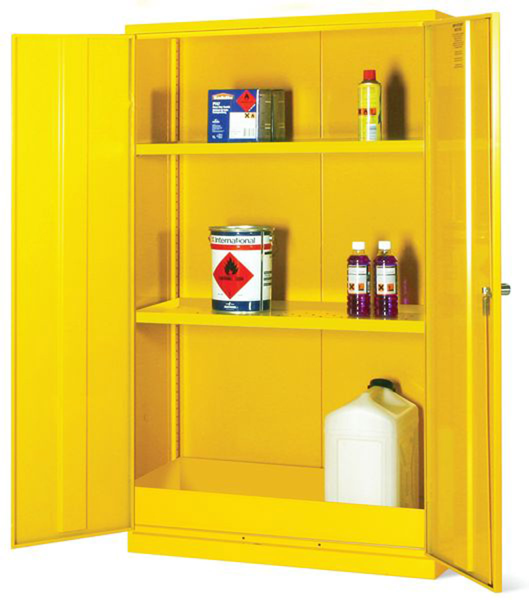 Flammable Liquid Storage Cabinet 1525 X 915 X 457mm Hxwxd
