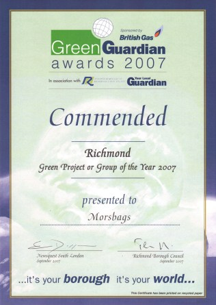 Green Guardian Award 2007