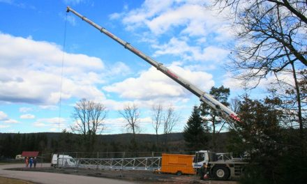 Reprise des travaux sur l'antenne 4G