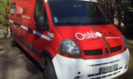 L'ostéobus arrive à Mortagne