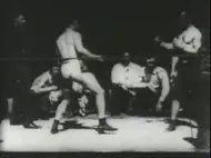 Earliest boxing match filmed with 1894 Kinetograph