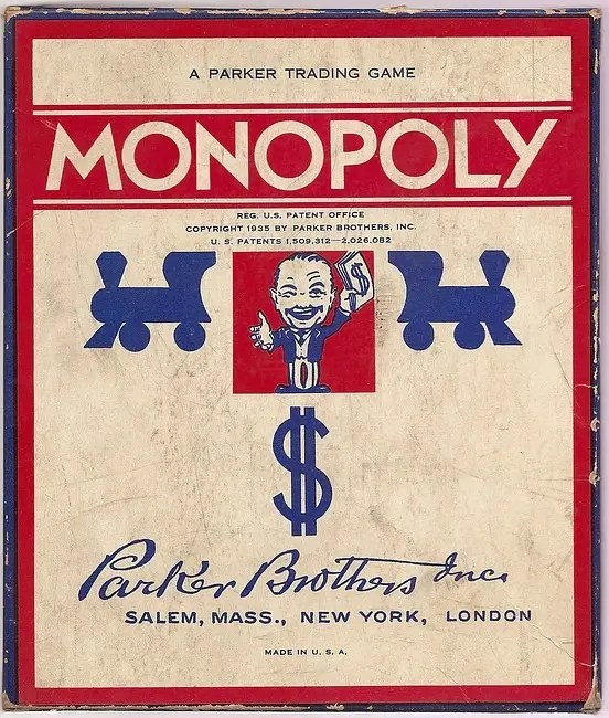 The Monopoly Board Game (1930's) | Mortal Journey
