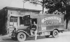 Frisbie Pie Company Delivery Truck
