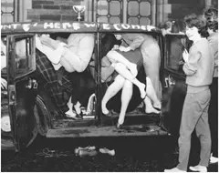 Car stuffing in the 1950's