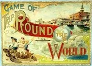 Game of Trip Round the World - 1897
