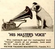 Victor Talking Machine Company Logo
