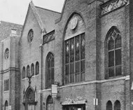 Building 22 of Victor Talking Machine Company Recording Studio in Camden, New Jersey