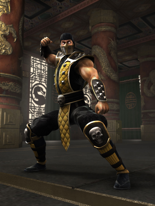 MKWarehouse Mortal Kombat Shaolin Monks Scorpion