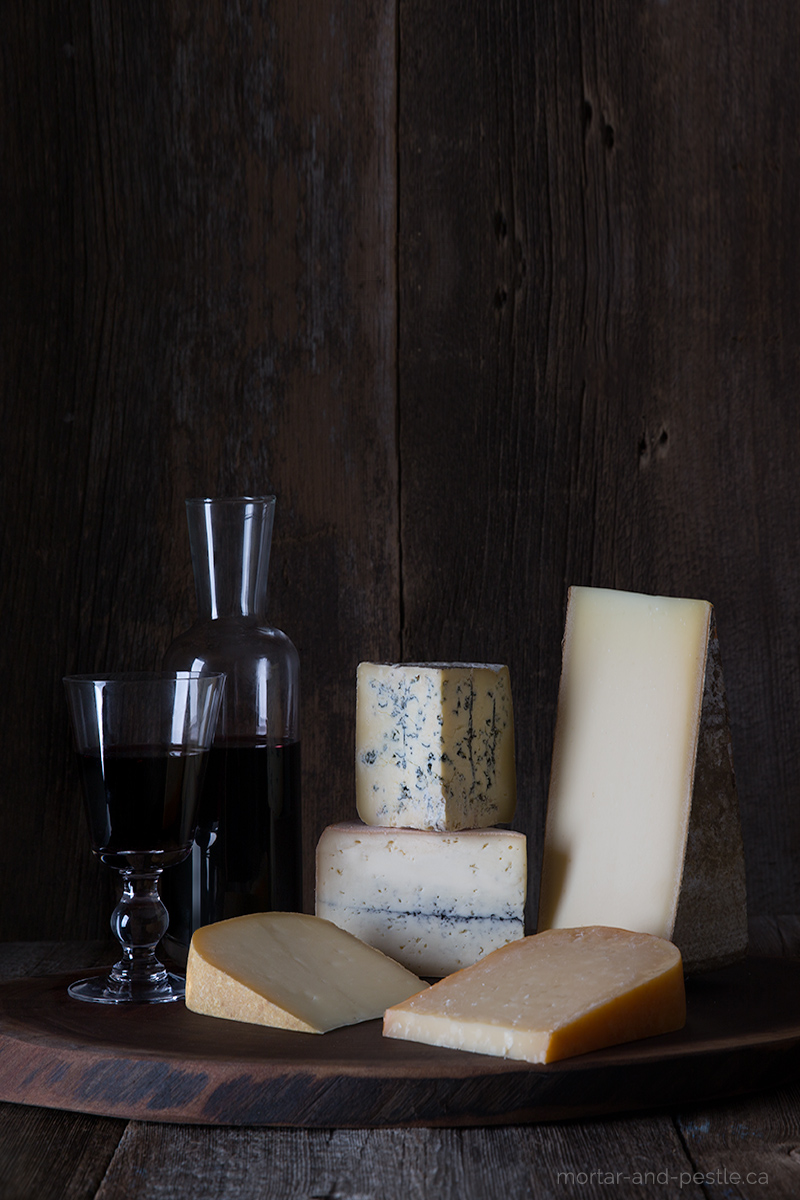 A selection of Canadian cheese from the Great Canadian Cheese Festival in Prince Edward County