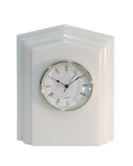 reloj rectángulo mármol blanco macael