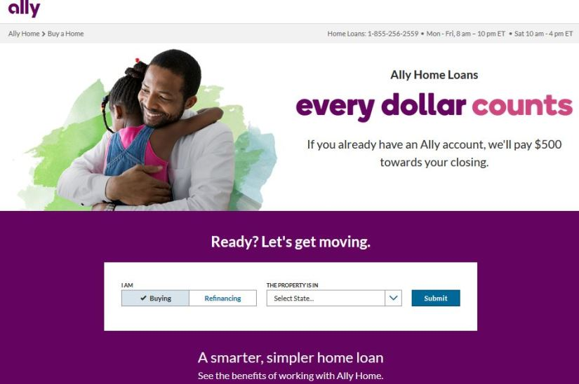 Ally Home Mortgage loan payment