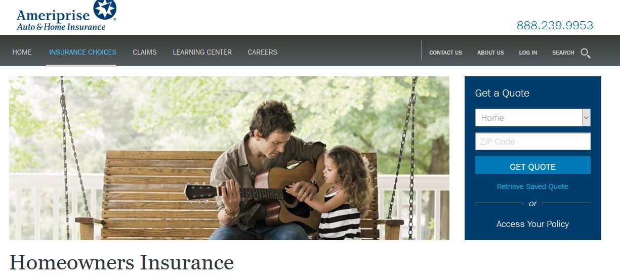 Ameriprise Home Insurance Login