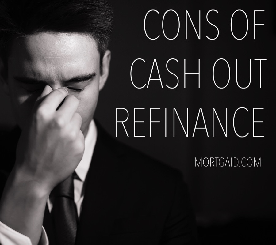 Disadvantages Of Cash Out Refinance And Debt Consolidation