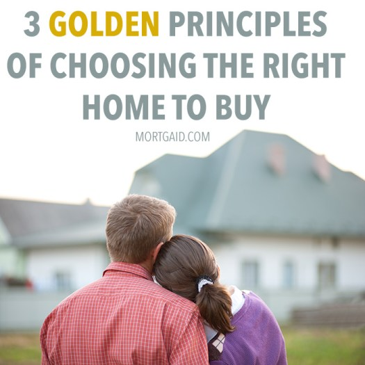 3 simple rules of choosing the right house