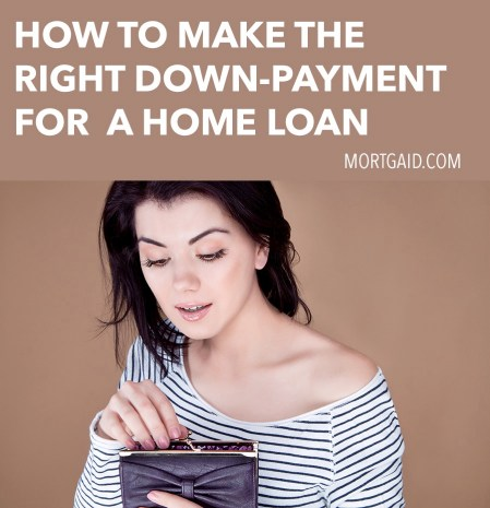 how to make the right down-payment
