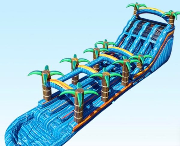 Triple Threat Deluxe Tropical Water Slide