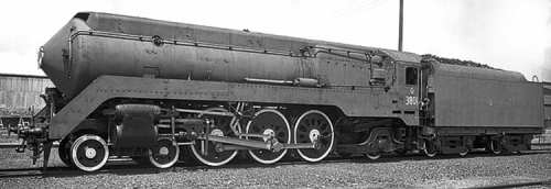 Handsome newcomer: NSW Government Railways' Class C38 No. 3801 on January 29, 1943, a week after being delivered by its builder, Clyde Engineering of Sydney. The streamlined Pacific, which was withdrawn in 1962, has been mired on controversy because a restoration that is currently five years behind schedule and has resulted in a brand-new £600,000 boiler being discarded in favour of the locomotive's old boiler. NSWGR COLLECTION
