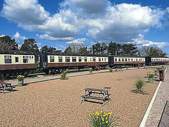 The Brunel Camping Coach Park now has a new owner but the fate of the coaches there remains unclear. CLIVE EMSON