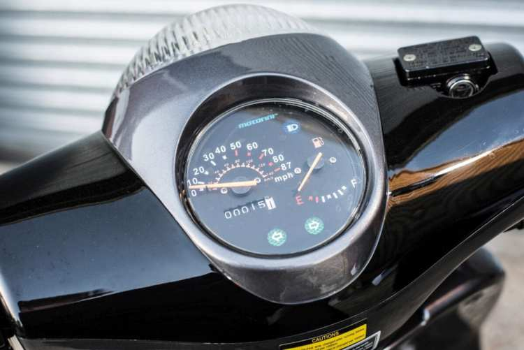 Motorini WP 125 clocks