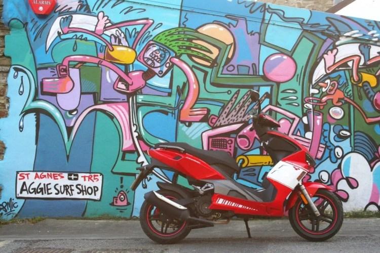 Urban street life? Nope, the village of St Agnes