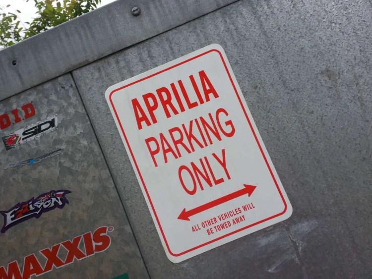 Aprilia-sign