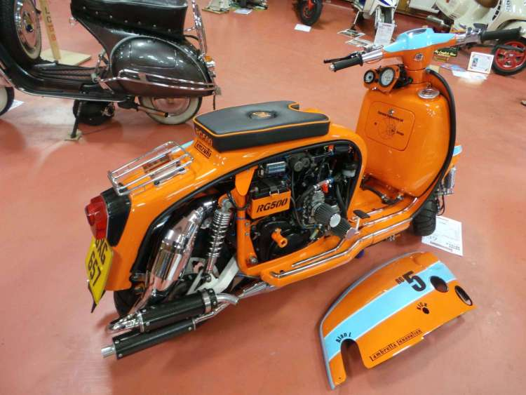 Modified-scooter
